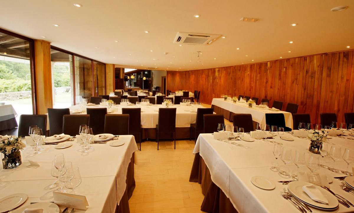 salón bodas Fervenza Restaurante & Casa Grande (Lugo)